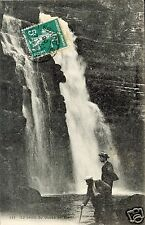 39 - cpa - La chute du Doubs en été