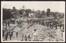 REAL PHOTO Postcard FERGUS FALLS Minnesota/MN  Grand Hotel 1919 Tornado Disaster