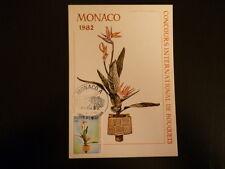 MONACO PREMIER JOUR FDC YVERT  1351   BOUQUET DE FLEURS    2,60F    MONACO  1982