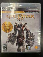 God of war Saga PS3 Brand New Factory Sealed NIB Complete CIB Playstation 3 Sony
