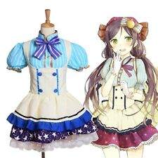 Nozomi Tojo Star Tutu Dress Kawaii Top+Skirt Japanese Anime Love Live Cosplay