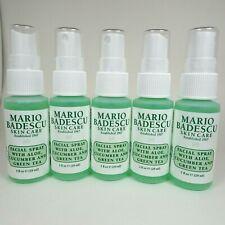 Lot of 5 Mario Badescu Facial Spray - Aloe Cucumber & Green Tea - 1oz / 29ml Ea