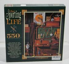 Ceaco The Sporting Life Puzzle 550p Grandad'S Tacklebox Puzzle - 1996