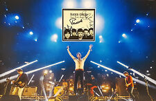THE KAISER CHIEFS Multi Signed 23x15 Photo Display YOURS TRULY, ANGRY MOB COA