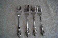 Lifetime Cutlery Grande Tradition stainless 4 salad forks
