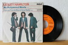 """7"""" - LESLEY HAMILTON - No Hollywood Movie - Brand-New Baby - RCA 1978"""