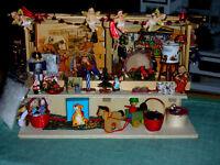 Advent/Weihnachtsmarktstand/Miniaturen/Glühwein/Einzelstück//Catrichen 1:12