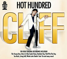 Cliff Richard : Hot Hundred CD Box Set 4 discs (2013) FREE Shipping, Save £s