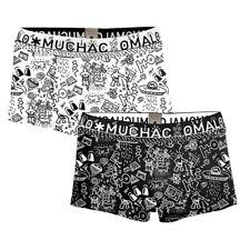 Muchachomalo Herren Trunks 2er Pack Iconic Art Größe M-XL Print NEU