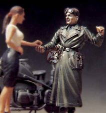 "Legend 1/35 ""Let's Go!"" German Motorcycle Rider w/Girl WWII (2 Figures) LF0072"