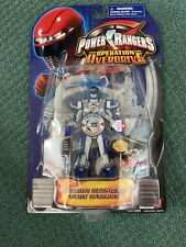 Power Rangers Operation Overdrive Mission Response BLUE RANGER new