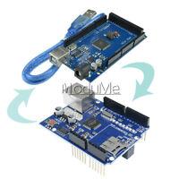CH340G UNO R3 Mega2560 Atmega2560-16AU Board W5100 Ethernet Shield