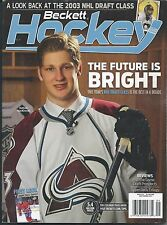 September 2013 Beckett Hockey Price Guide NHL - #253 MacKinnon