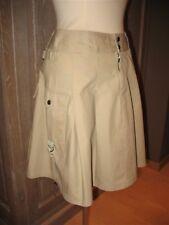 Beige safarirok / skirt met zakken van InWear