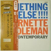 Ornette Coleman Something Else! Contemporary LAX 3024 OBI JAPAN VINYL LP JAZZ