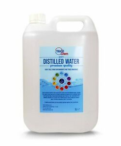 Distilled Water 5L Jerry Container Pure Water Pure Chem (BLUE)