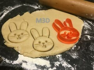 Easter Bunny Cookie Cutters - Free Shipping - Fast Delivery UK Seller