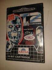 Sega Mega Drive Boxed Game * T2 TERMINATOR 2 THE ARCADE GAME * Megadrive   GNG