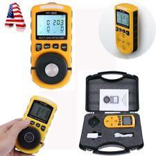 4-in-1 Multi-Gas Detector Tester O2 LEL H2S CO Analyzer Harm Gas Density Monitor