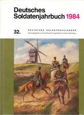 Deutsches Soldatenjahrbuch 1984 32. Deutscher Soldatenkalender Weltkrieg Militär