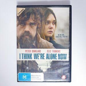 I Think Were Alone Now DVD Region 4 PAL Free Postage - Drama Thriller
