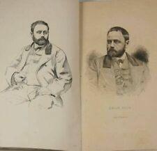 Livres anciens et de collection xixème Émile Zola, sur littérature
