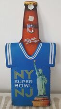 2014 Super Bowl XLVIII Koozie Bottle Jersey NFL Football Seahawks Broncos New !