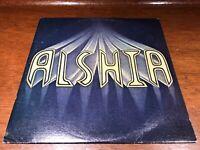 Alshia - Self Titled - VG+ Vinyl LP Record