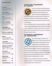 1995 Chrysler/Plymouth Brochure: LHS,LeBARON,NEW YORKER,VOYAGER MiniVan,CIRRUS,