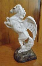 Windstone Editions 1991 Pegasus Statue Stallion Rearing Winged Horse Pena