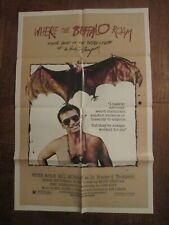 Where The Buffalo Roam - Original 1sheet  Movie Poster - Bill Murray