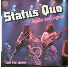 """Status Quo - Again and again (7"""") 1978 FRANCE"""