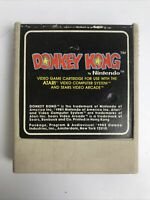 Vintage 1982 DONKEY KONG by Nintendo (Atari 2600 & Sears Video Arcade Game) Cart