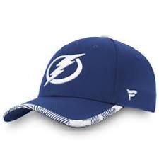 Tampa Bay Lightning Fanatics Branded Iconic Training Speed Flex Blue Hat Hockey
