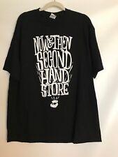 "NWT XL Black Graphic T-shirt TV Series Storage Wars ""Now & Then Send Hand Store"""