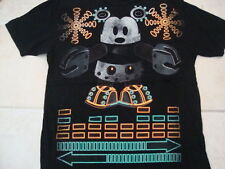New listing Walt Disney Mickey Mouse Stage 28 Neon Robot Souvenir Black T Shirt Size Xl/L