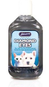 Johnsons Dog & Cat Diamond Eyes Tear Stain Remover 125ml