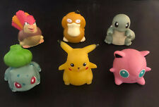 Vintage Pokemon Sliders 6 Lot 1999 Figures Rollers Nintendo Oddzon Inc
