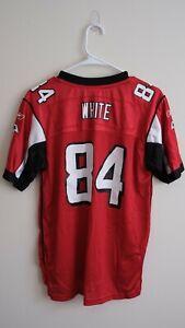 Roddy White NFL Jersey Atlanta Falcons #84 Size Youth Large Stitched Reebok Red