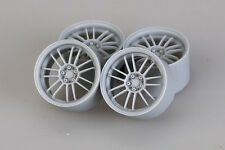 Hobby Design 1/24 18inch Volk Racing RE30 Wheels (4 Resin Wheel Rims)