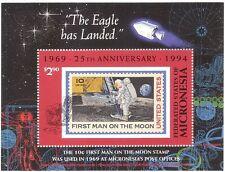 Micronesia 1994 dello Spazio Apollo// 25th ANNIVERSARIO 1st Moon Walk/ASTRONAUTA M/S s1778