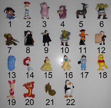 Fremdfiguren Bip Dora / Toy Story 3 /  Shrek / Princess /  Winnie Pooh z Auswahl