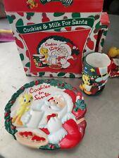 Warner Bros. Tweety Bird Cookies & Milk For Santa Set WB Studio Store exclusive