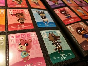 Animal Crossing Amiibo Series 1 Cards #1-100 Mint, Authentic! (Choose cards)