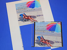 50 Sheets 100 CD Jewel Case Front Inserts Inkjet Photo Quality Glossy CJG912CP