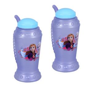 Disney Frozen Kid Cup 2pk Girl BPA-FREE Tumbler w/ Straw Drink Cup FREE SHIPPING
