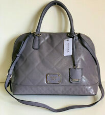 NEW! GUESS PIANO COLLECTION SLATE GRAY CONVERTIBLE SATCHEL CROSSBODY SLING BAG