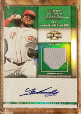 2012 Topps Triple Threads Johnny Cueto AUTO Relic TTUAR-59 /50 Giants, Royals