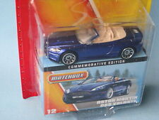 Matchbox Aston Martin DBS Blue Volante Cabriolet Toy Model Car70mm 60th Anv