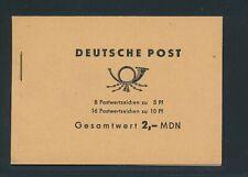 "DDR MH 1968, Mi. 4 b 2.1 **, ""Ulbricht"", tadellos!! Mi. 150,--!!"